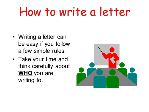Letterwriting ppt.