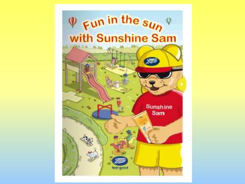 Sun safety with Sunshine Sam