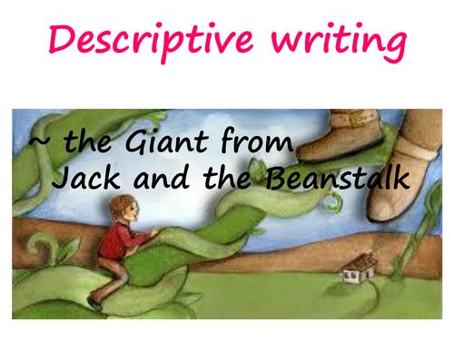 Description ~ the Giant  (Jack and the Beanstalk)