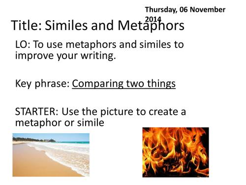 Descriptive writing of a beach