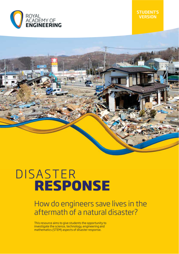 Disaster response: how do engineers save lives?