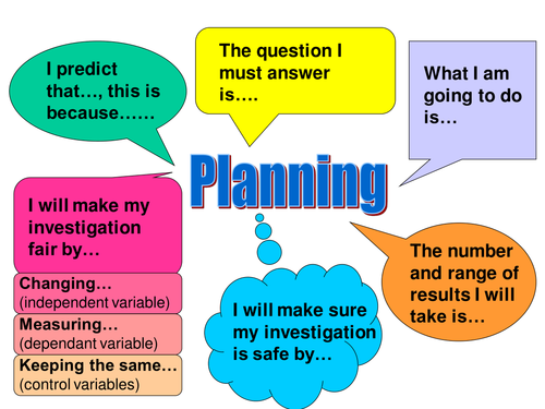 Science Literacy Support Placemats