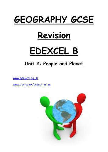 Edexcel b gcse geography coursework
