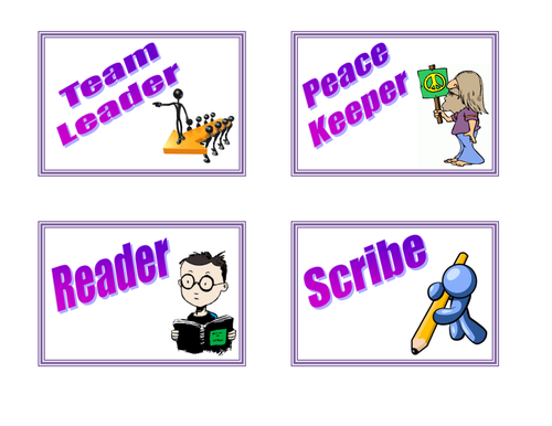 Group Work - Job Badges