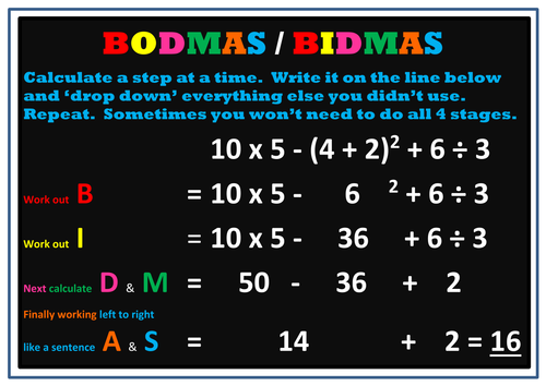 bodmas questions for grade 6 pdf