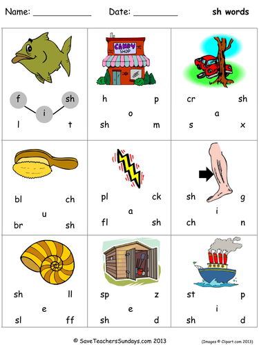 Letter Words That End With An H