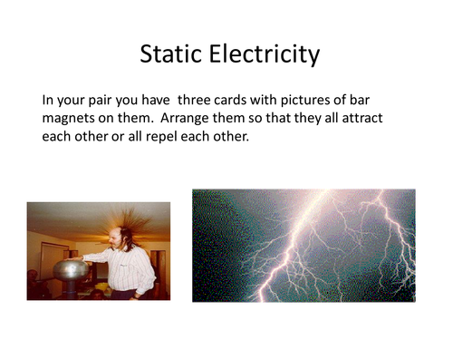 Electrostatics Worksheets by mousey80 Teaching Resources TES – Electrostatics Worksheet