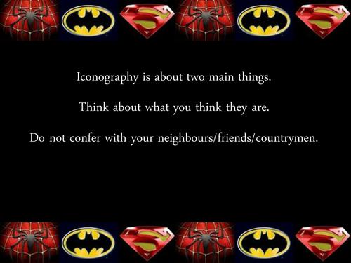 Mise En Scene in Superhero Films