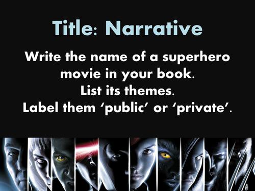 Narrative & Plot in Superhero Films