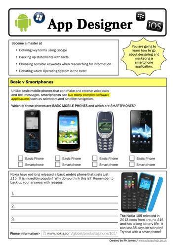 Mobile Smartphone App Design