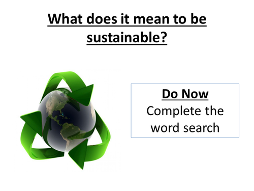 Introduction to Sustainable Tourism