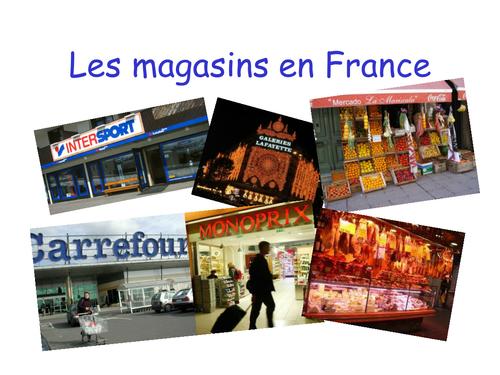 Les magasins en France