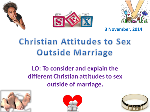 Sex outside of marriage past