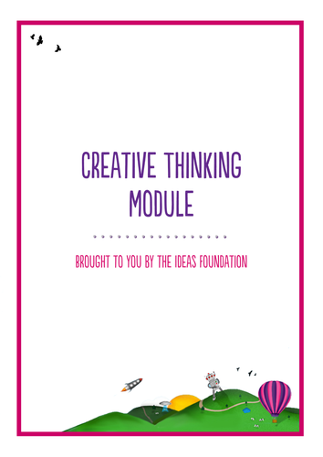 Creative Thinking Lesson Plan