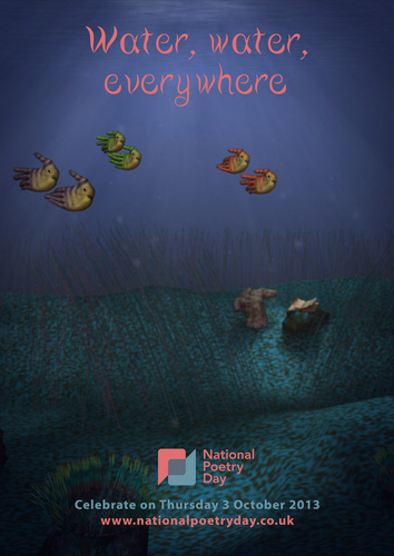 Handfish for National Poetry Day Poster