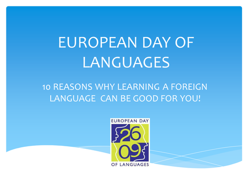 European Day of Languages Assembly