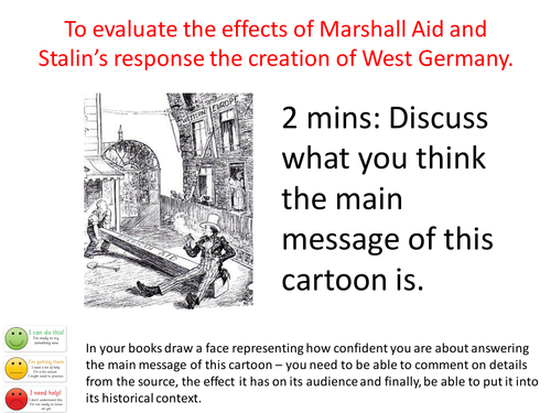 tutorial on cartoon source analysis, video, AFL