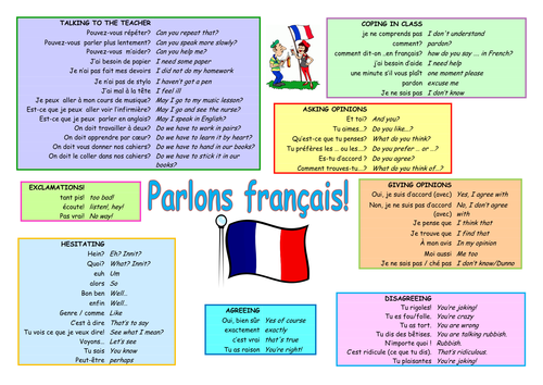 French Speaking Mat