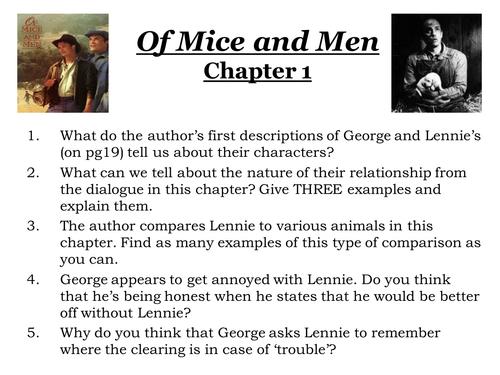 Of mice and men hero