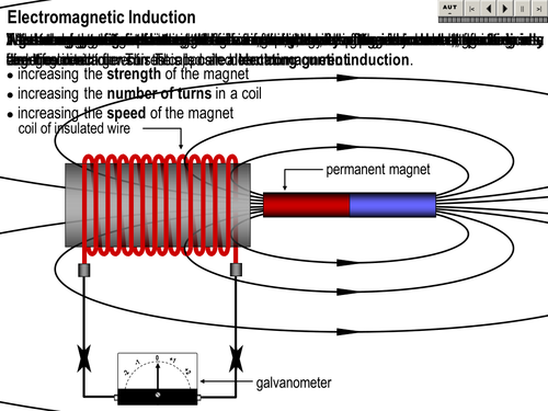 electromagnetic induction by rtyler62 teaching resources tes