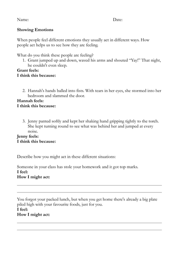 Creative Writing homework sheets 1-5 by benberry | Teaching Resources