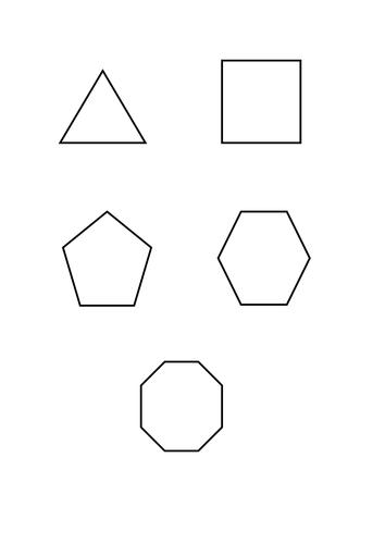 Interior Exterior Angles Polygons Grade C Level 7