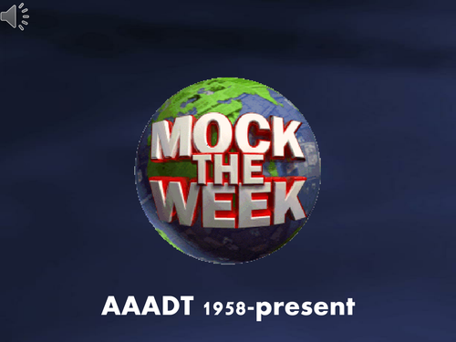 AAADT Mock the week
