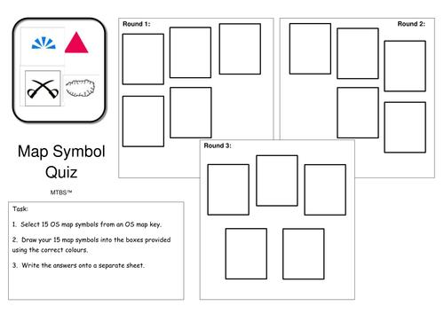 Map Symbol Logo Quiz By Geogsie Teaching Resources Tes