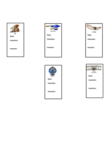 'Flight' topic worksheets