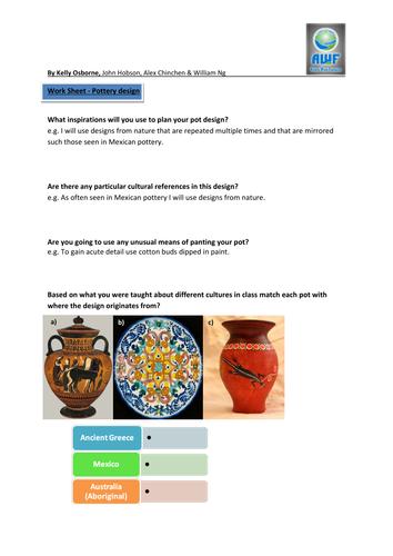 AWF Flower Pot Design Project