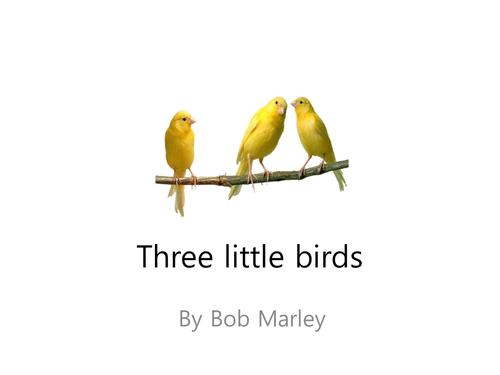 THREE LITTLE BIRDS Chords - Bob Marley | E-Chords