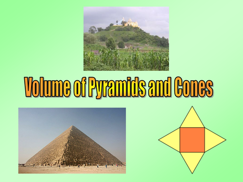 Volume of Pyramid worksheet Grade A by viviennepenney Teaching – Volume of Pyramids Worksheet