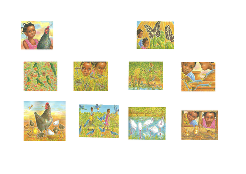 Handa's Hen - Sequencing pictures by bentaylor8 - Teaching ...