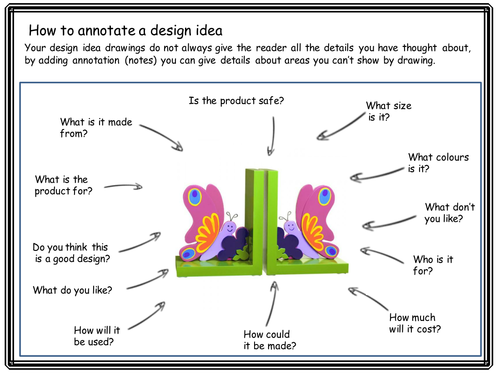 Mdf Bookends Design Sheet And Prompt Sheet Teaching