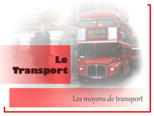 Les Moyens de Transport