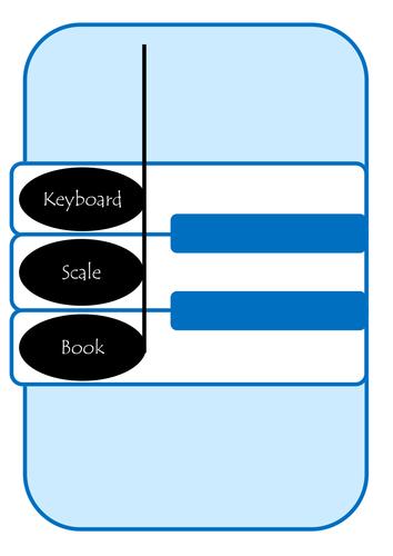 Keyboard Scale Book