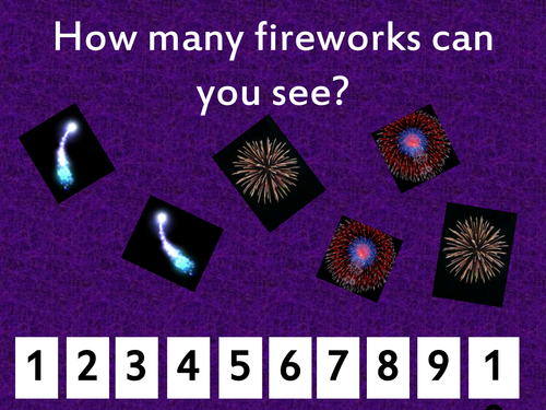 Counting Fireworks