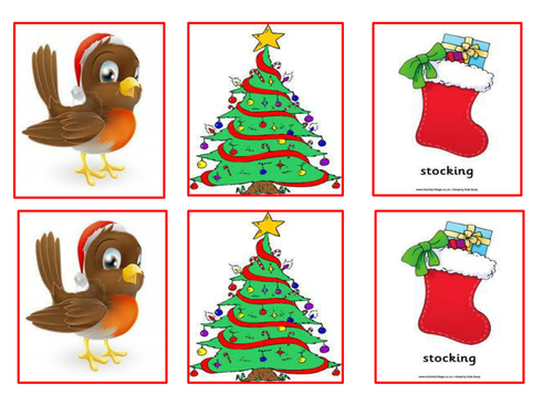 Christmas Snap and Pairs Game