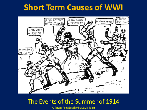 What Were the Four Main Causes of World War I?