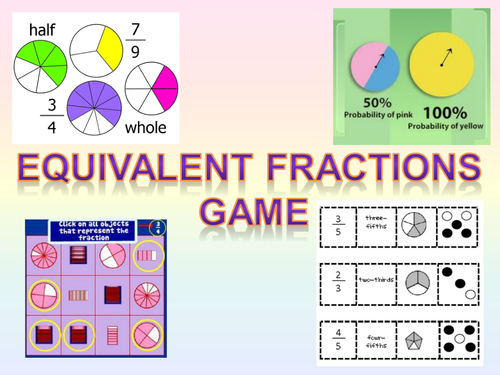 Equivalent Fractions Game by Owen134866 - Teaching Resources - Tes