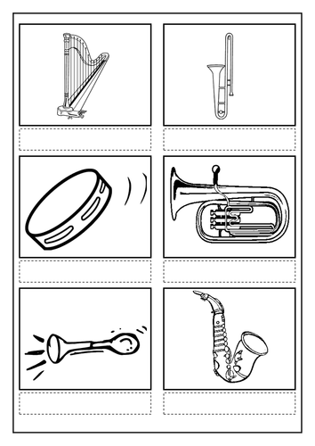 families of musical instruments pdf
