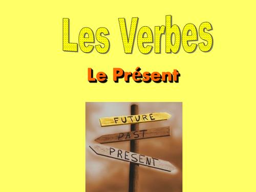 Les Verbes 'er' au Present