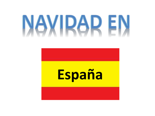 Navidad en España - Christmas in Spain