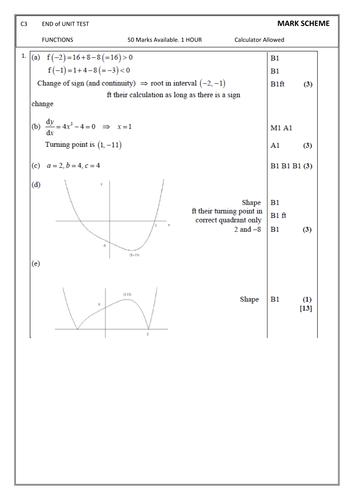 A Level Maths Worksheet Sigma Notation By Phildb Teaching