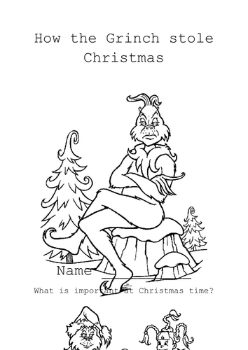 How The Grinch Stole Christmas By Jules4279 Teaching