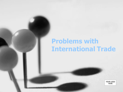 Problems with international trade