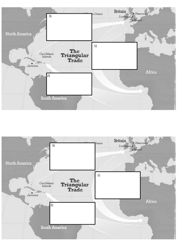 What was the triangular trade? by maxblackburn - Teaching ...