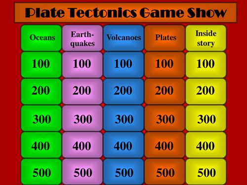 Tectonics Quiz
