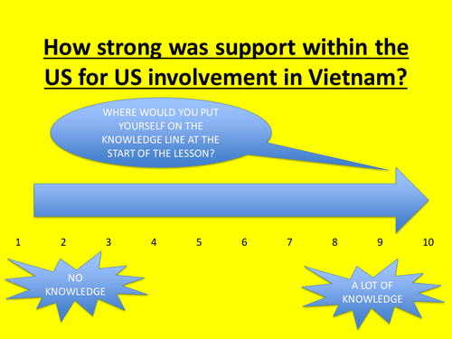 How strong was support for the Vietnam war?
