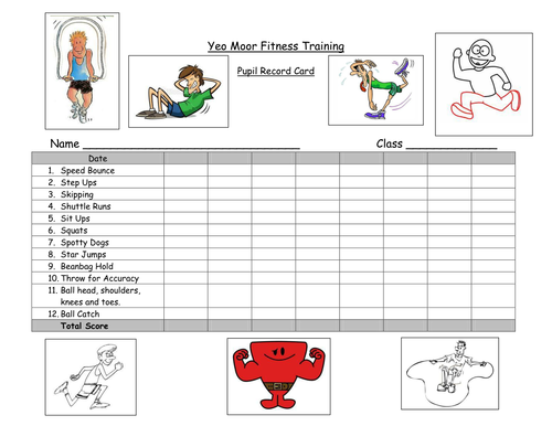 Ks2 Circuit Training Plans By Kyle88 Teaching Resources Tes